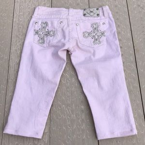 Miss Me Fitted Capri Jeans